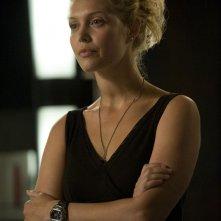 TJ (Alaina Kalanj) in una scena dell'episodio Alliances di Stargate Universe