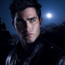 Tyler Hoechlin in una foto promozionale della serie Teen Wolf
