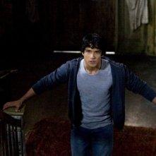 Tyler Posey  in una scena della serie Teen Wolf