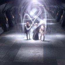 Una sequenza del film Star Wars ep. III - La vendetta dei Sith