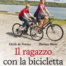 La locandina  italiana di Il ragazzo con la bicicletta