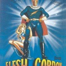 La locandina di Flesh Gordon - Andata e ritorno dal pianeta Korno