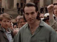 Daniel Day-Lewis in una scena del film Nel nome del padre
