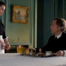 Natalia Verbeke con Fabrice Luchini nel film Les femmes du 6ème étage