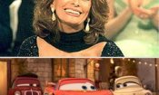 Sophia Loren tra i doppiatori italiani di Cars 2