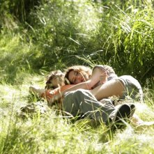 Una tenera immagine dei protagonisti di Un amour de jeunesse