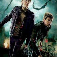 Nuovo character poster di Harry Potter e i doni della morte - parte 2 dedicato ai gemelli Weasley
