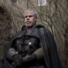 Ron Perlman in un'immagine del film Season of the Witch