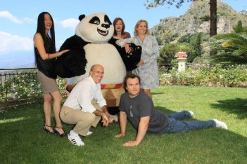 Taormina 2011: Jack Black presenta Kung Fu Panda 2 con i realizzatori del film