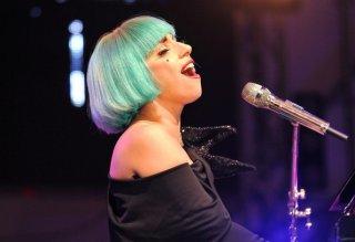 Europride 2011: Lady Gaga durante il concerto al Circo Massimo a Roma