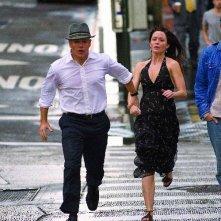 Matt Damon ed Emily Blunt nel film The Adjustment Bureau