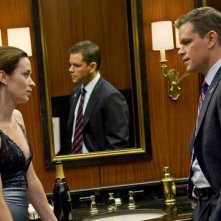 Matt Damon ed Emily Blunt, protagonisti del thriller The Adjustment Bureau