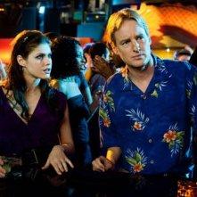 Owen Wilson con Alexandra Daddario nel film Hall Pass