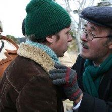 Matías Vega e José Martín nel ruolo di padre e figlio nel film Dawson, Island 10