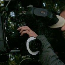 Il regista Varo Venturi sul set di 6 giorni sulla terra