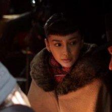 Angelababy con Andy Lau in una scena di The Founding of a Party