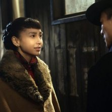 Angelababy e Liu Yunlong in una scena di The Founding of a Party