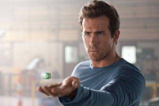 Ryan Reynolds in una scena di Green Lantern