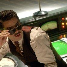 Dominic Cooper in una scena di Captain America: il primo vendicatore