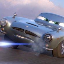 Finn McMissile sfreccia nel film Cars 2