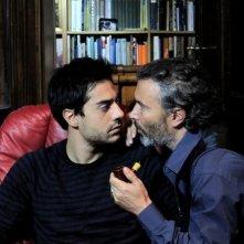 Giuseppe Soleri e Paolo Sassanelli nel film Ubaldo Terzani Horror Show