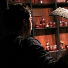 Giuseppe Soleri in una scena del film Ubaldo Terzani Horror Show