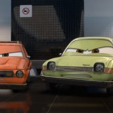 Grem e Acer nel film Cars 2