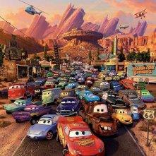 Le protagoniste a quattro ruote del film Cars 2