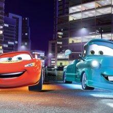 Lightning McQueen, tra le macchine protagoniste del film Cars 2