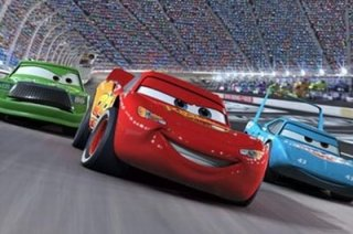 Una sequenza tratta dal film Cars 2