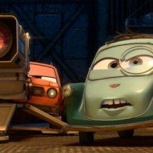 Una simpatica immagine del film Cars 2