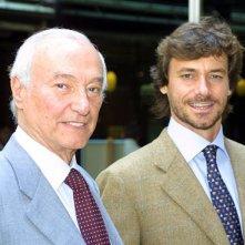 Alberto Angela e suo padre Piero presentano Superquark.