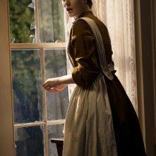 Evan Rachel Wood in una scena del film The Conspirator