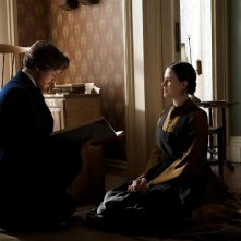 James McAvoy ed Evan Rachel Wood in una scena di The Conspirator, 2011