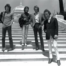 John Jim Morrison, John Densmore, Ray Manzarek e Robby Krieger immortalati dal film When You're Strange