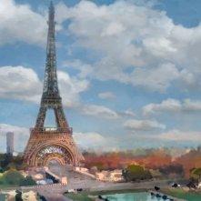 Cars 2: il concept art della scena a Parigi