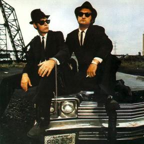 Dan Aykroyd e John Belushi in The Blues Brothers