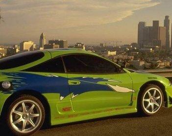 Una scena di The Fast and the Furious