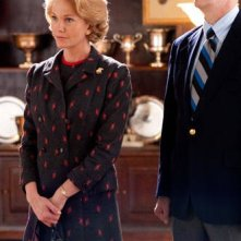 Diane Lane con Dylan Baker nel film Secretariat
