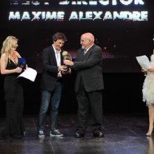 Maxime Alexandre riceve il Premio Miglior Regia per il Film Christopher Roth al Fantasy Horror Award 2011