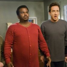 Rob Corddry, John Cusack, Clark Duke e Craig Robinson al centro di Hot Tub Time Machine