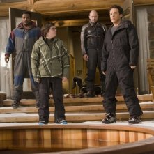 Rob Corddry, John Cusack, Clark Duke e Craig Robinson protagonisti di Hot Tub Time Machine