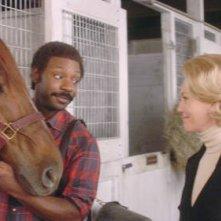 Secretariat: una scena con Nelsan Ellis e Diane Lane