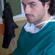 Antonio Cupo, foto dal set di  Medici Miei