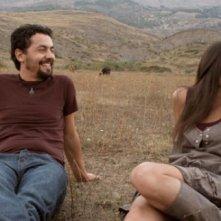 Ballkan Bazar: i protagonisti Laertis Vasiliou e Veronica Gentili