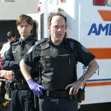 Gregory Smith e Matt Gordon nell'episodio Might Have Been di Rookie Blue