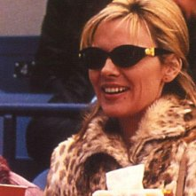 Kim Cattrall è Samantha Jones nel serial HBO Sex and the City.