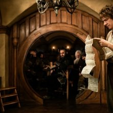 Martin Freeman e Richard Armitage in una scena di The Hobbit