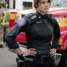 Missy Peregrym nell'episodio Bad Moon Rising di Rookie Blue