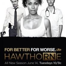 Un poster della stagione 3 di Hawthorne